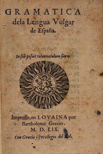 La Gramática de Gravio (Lovaina, a. 1559), el español y el valenciano