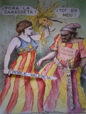 La Normalització catalana en la Almenara de 1521