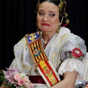 Mónica Oltra, la Fallera Cantimplora
