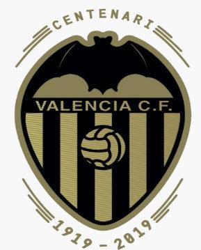 El catalanista Centenario del Valencia CF.