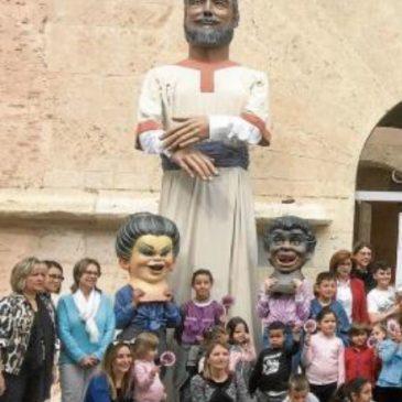 """La catalanada del día del periódico Levante: """"gegant"""""""