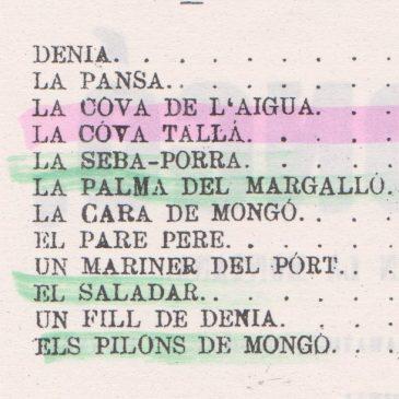 """La catalanada del día de Las Provincias: """"Montgó"""""""
