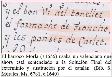 La Solución Final para el idioma valenciano